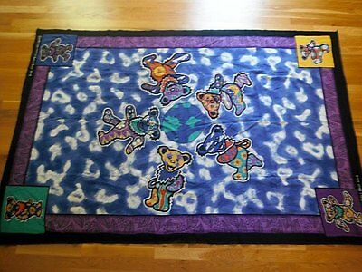 Dan Morris GYPSY ROSE Grateful Dead Dancing Bears Tapesty Bedspread
