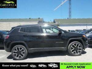 2017 Jeep Compass Limited - BACK UP CAMERA * U-CONNECT * CRUISE