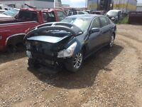 Parting out 2007 Infiniti g35x