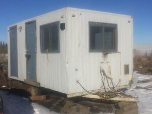 Older Job Site Office / Tool Trailer good for Workshop or Shed