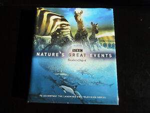 Nature`s Great Events book by BBC Reader`s Digest