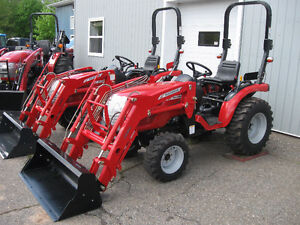 McCormick 24hp Tractor with Loader & FREE OPTIONS!!!