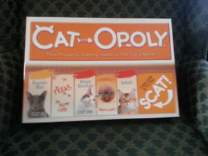 CAT  MONOPOLY  GAME