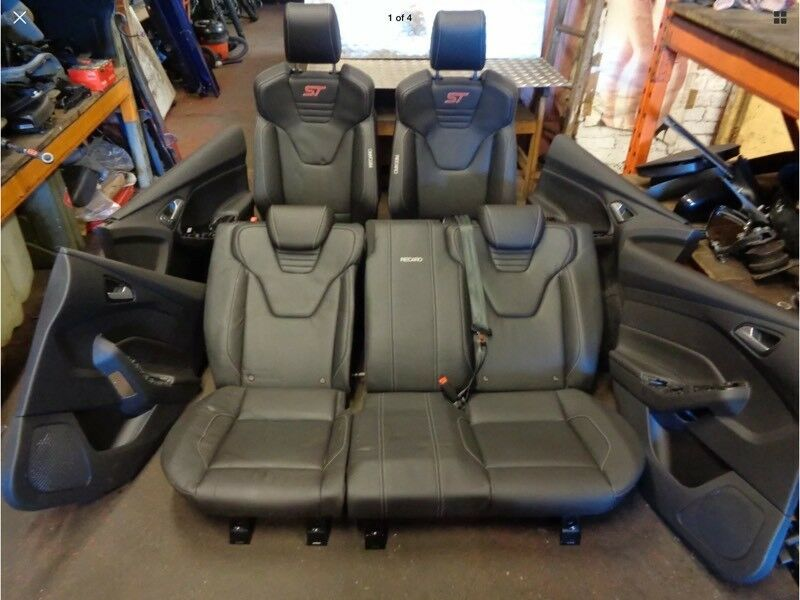 Ford Focus st 3 Recaro leather seats