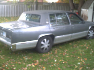 NICE!!  1989 cadillac not a thing wrong with it  lost eye sight
