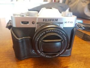 Fujifilm X-T10 with XF 27mm lens