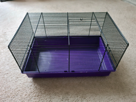 Small Wire Hamster (Syrian or Dwarf) Mouse House Cage Purple