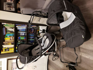 Hauk Infant to Toddler Combo Stroller System