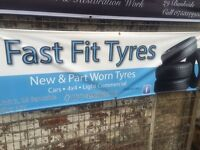 Fast fit tyres