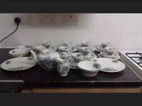 Fine bone china Tea service