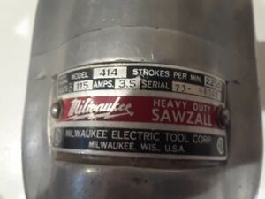 Milwaukee Vintage Sawzall Power Tool