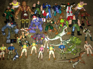 Action Figures lot 30+ toys