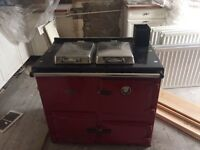 Rayburn (mains gas) - in good working condition