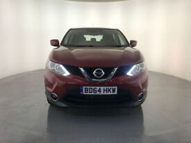 2015 NISSAN QASHQAI ACENTA DCI DIESEL AUTOMATIC 1 OWNER SERVICE HISTORY FINANCE