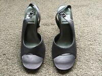 New grey shoes