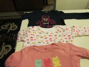 Five coloured onesies/body suits (18-24M) Kitchener / Waterloo Kitchener Area image 1