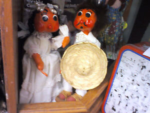 Mexican Dolls in HEARTBEAT Thrift Store/BayView Mall