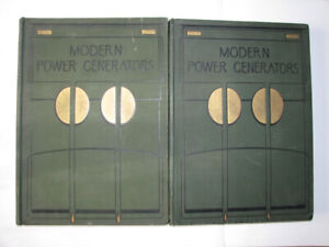 Modern Power generators Volumes 1 and 2 - Collectible set