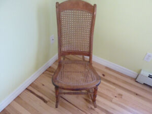 For Sale - Antique Wicker Rocker (Excellent Condition)