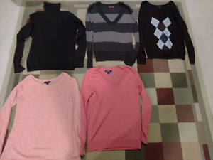 Ladies S and M clothing lot!