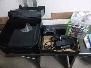 Xbox one day one edition + 5 games