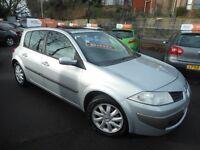 Renault Megane DYNAMIQUE DCI (silver) 2008