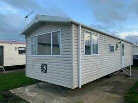 CHEAP GLAZED AND HEATED CARAVAN- CONWY OVERLOOKING ANGLESEY