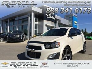 2014 Chevrolet Sonic RS  -  Leather Seats