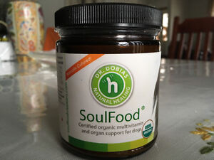 Dog supplement Soulfood from Dr Dobias