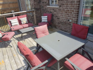 Patio Convesation Set and Dining Set