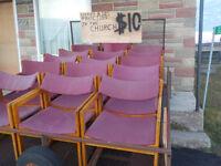 Older Banquet Chairs