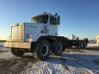 1998 Western Star 4884F Heavy Spec T/A T/A Cab and Chassis