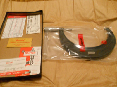 Starrett 436 Metric Micrometer125-150mm Friction Lock