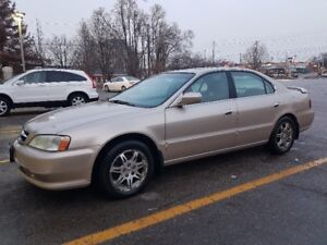2000 Gold Acura TL for $2,500