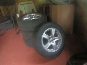 Set of 4 Micheline Tires on Rims