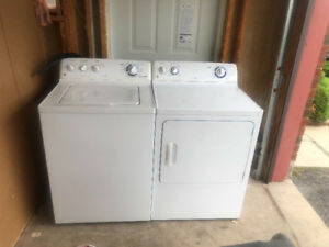 "Ge 27 "" washer and dryer for sale"