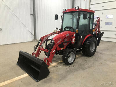 2019 Tym T264h 24hp Hydrostatic Tractor W Loader Backhoe Cab
