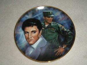 """ELVIS PLATE -- 10 1/4""""--THE EARLY YEARS"""