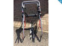 Rear cycle carrier