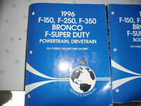 1996 Ford Factory Manuals-Motorhome and Light Truck