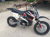 2006 giovanni 125cc dirt bike