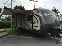 2014 Fun Finder 29' trailer ready to go!