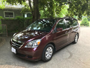 Honda Odyssey, Low kms,,Original  owner, No Accidents!