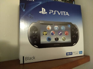 Brand New Playstation Vita! Comes with 16GB Card and 2 Games!
