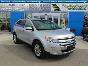 2013 Ford Edge Limited | Htd Leather | PST Paid  - Leather Seats