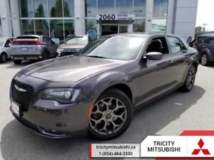 2017 Chrysler 300 S  ALL WHEEL DRIVE-LEATHER-REAR CAM