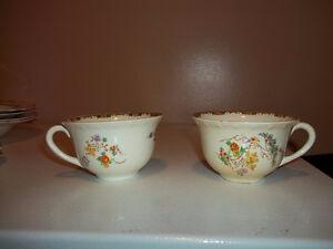 Antique China - Sunshine Susie tea cups