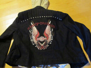 Woman's Harley Davidson jacket for sale