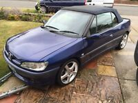PEUGEOT 306 Cabriolet convertible breaking for parks