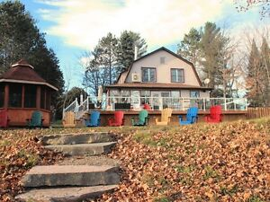 ***Cottage/Home w/over 100ft Clean Waterfront in Haliburton***